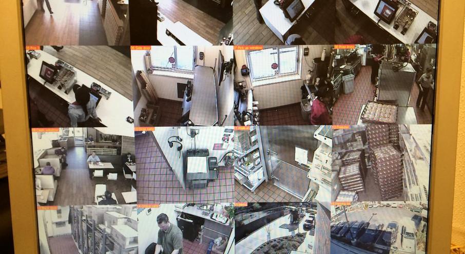 X5 Networks installs 16 Camera CCTV Video Surveillance System at Mcdonalds
