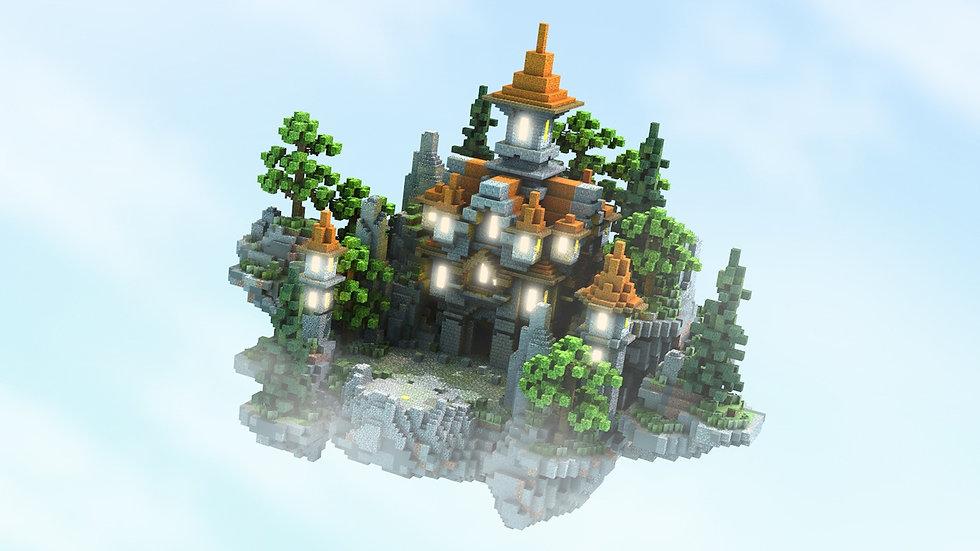 Orange Tower 100x100