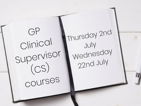 GP Clinical Supervisor (CS) courses
