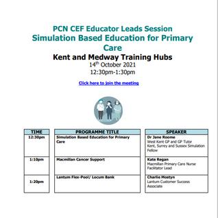 PCN CEF Educator Leads session