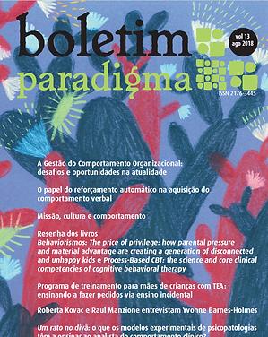 Boletim Paradigma 2018
