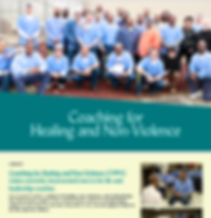 Coaching for Healing and Non- Violence p