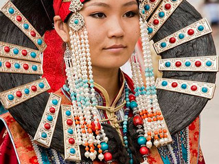 Joyería Tribal y Étnica en Asia: Norte y Asia Central.