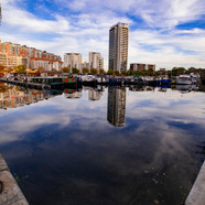 Cloudy Thames Reflection