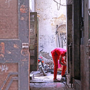 Peeping Toma, Walled City, Lahore.