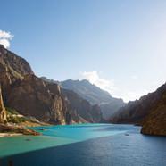 Attabad Lake, Hunza Valley, Pakistan.