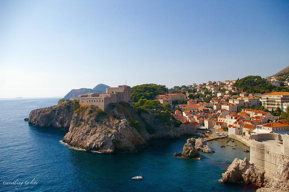Qué ver en CROACIA - Playa de Dubrovnik