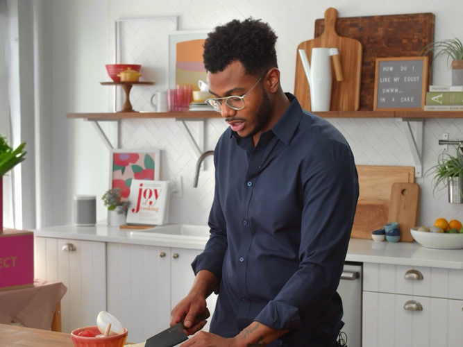 Chef Kwame with Imperfect Foods