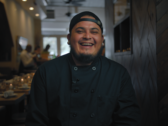 Chef Juan cooking story