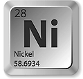 periodic table for nickel