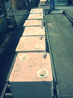 foundry sand moulds