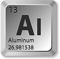 periodic table for aluminum