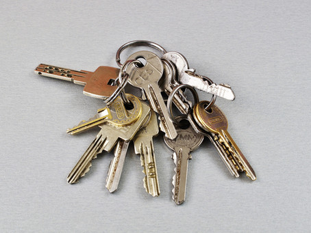 Keys! Do you know where yours are?