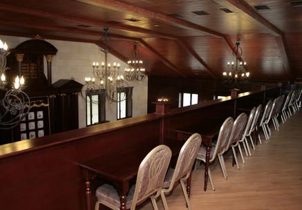 2й этаж молитвенного зала для женщин