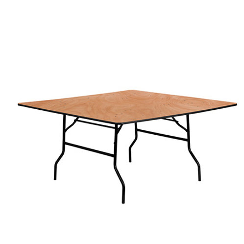 5' x 5' Square Table