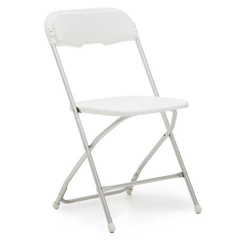 White Samsonite Chair