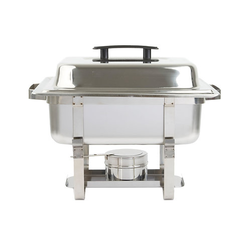 Stainless Steel Square Chafing Dish - 4 Qt.
