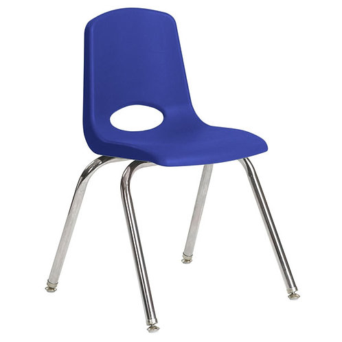 Children´s Blue Stacking Chair