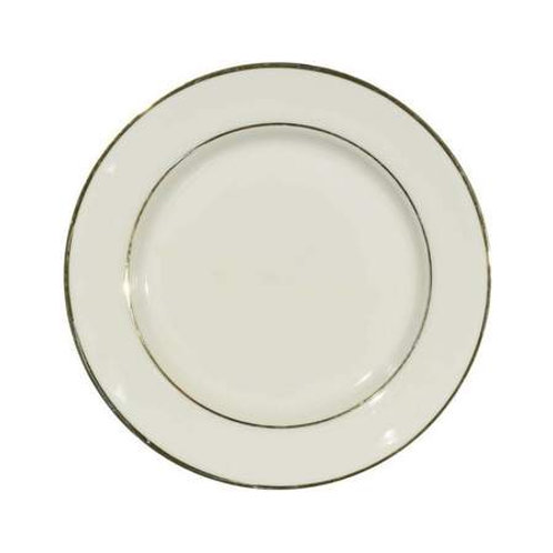 Ivory & Gold Luncheon Plate