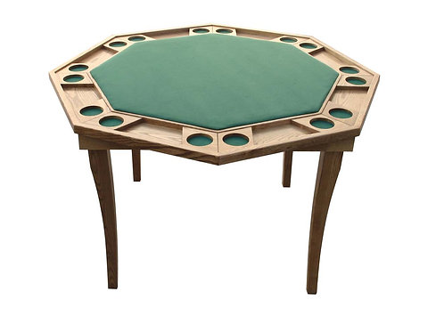 Eight-sided Poker Table