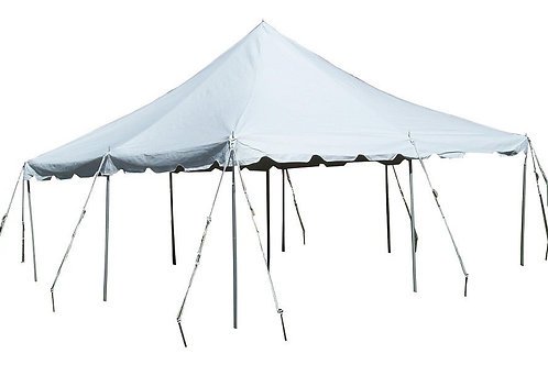 White Canopy/Tent 20'x20'