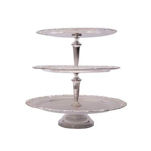 3 Tier Stainless Pastry Stand