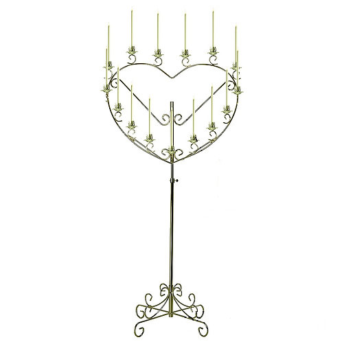 Heart Shaped Candelabra