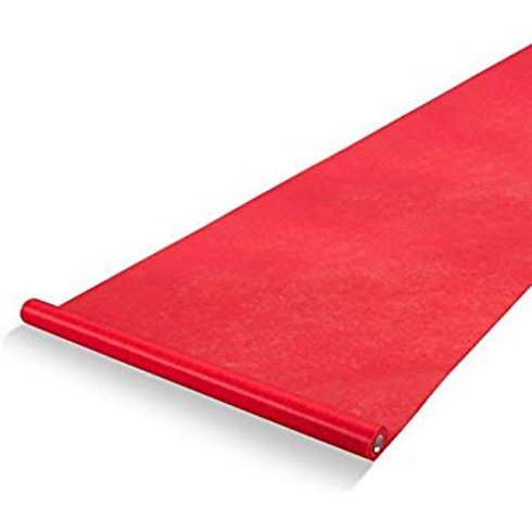 Red Aisle Runner 3'X15'