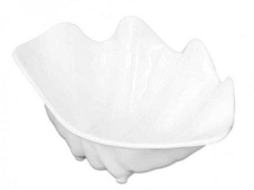 White Serving Shell