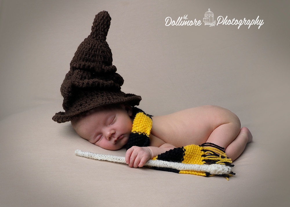 Newborn Harry Potter Photography