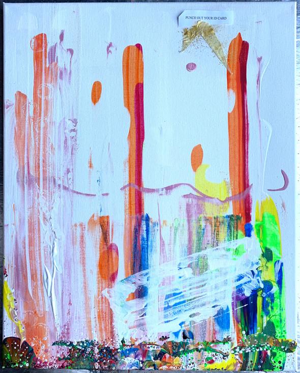 Underworld. (Torn)   Acrylic