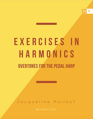 Exercises in Harmonics for Pedal Harp