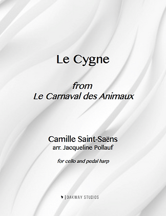 Le Cygne (The Swan) by Camille Saint-Saëns