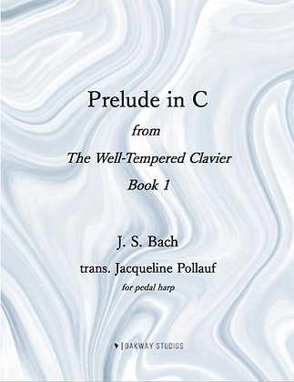 Prelude in C, J. S. Bach, trans. Jacqueline Pollauf
