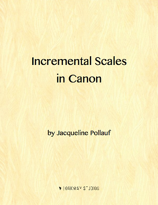 Incremental Scales in Canon