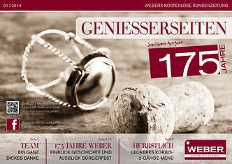 Genisserseiten Jubiläum 2014