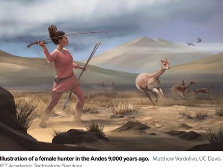 30-50% of Hunters Were Women...