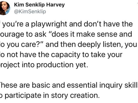 The Courage A Playwright Needs