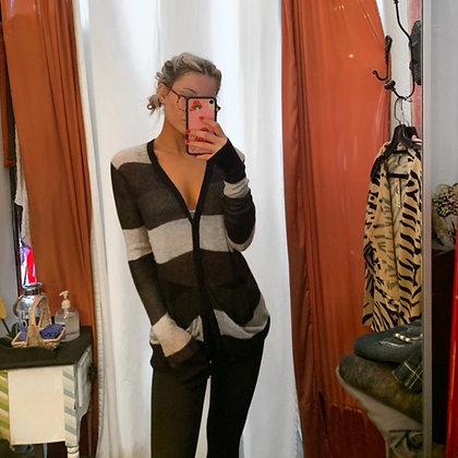 Cardigan Long Sweater Mohair Mix