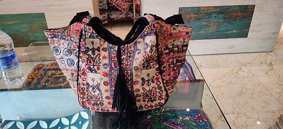 Hand made one of a kind boho bag