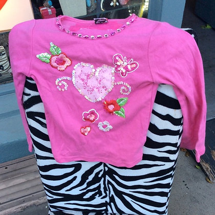 Madonnas Lipstik Kids Longsleeve Shirt