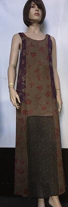 NWT size xl patchwork dress by citron
