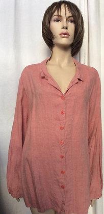 NWT IG shirt/ jacket 100% linen by flax Engelhart