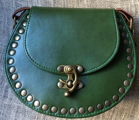small vegan leather purse