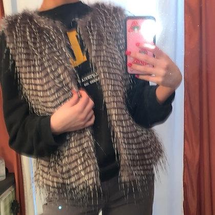 Wells Grace Faux Fur Vest