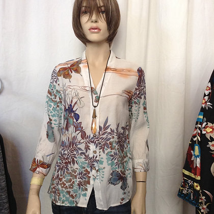 NWT SIZE L TOP BY CITRON OF SANTA MONICA