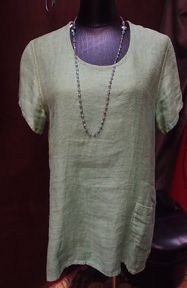 100% Linen  T-shirt by Flax size Small
