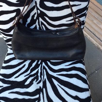 Vintage Black Brighton Leather Purse