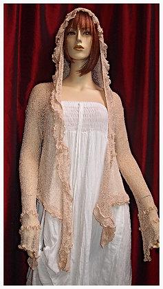 Ruffle Cardigan Bali Knit