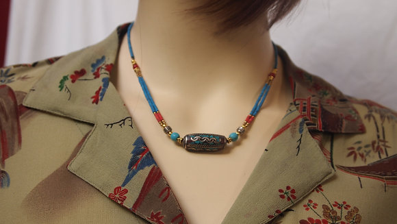 BEAUIFUL COLORED BEAD NECKLESS FROM NAPAL
